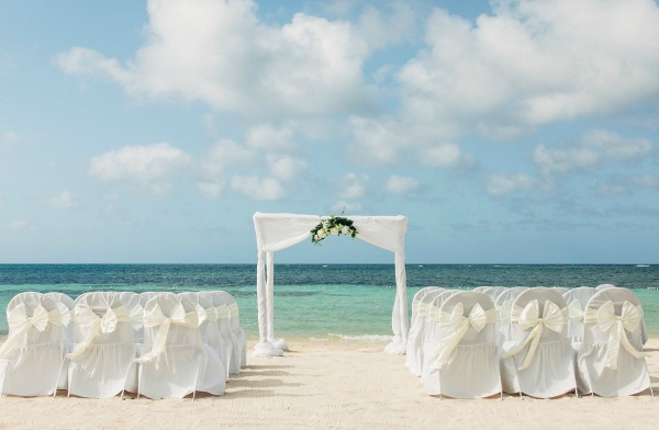 Gallery Mint And Coral Jamaica Beach Wedding Bajan Wed