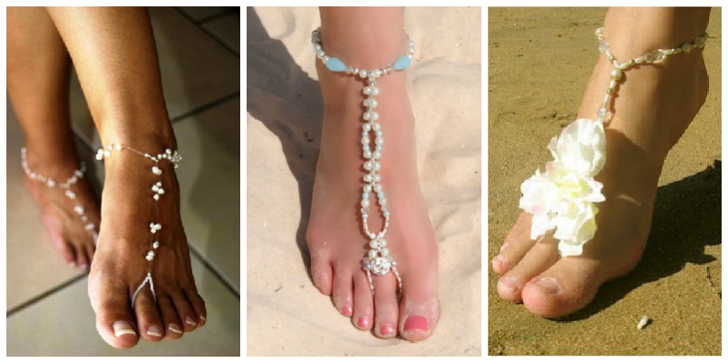 bohemian-beach-wedding-barefoot-sandals
