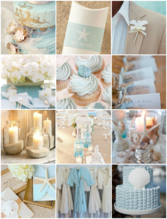 beach-wedding-colours-blue-white-tan