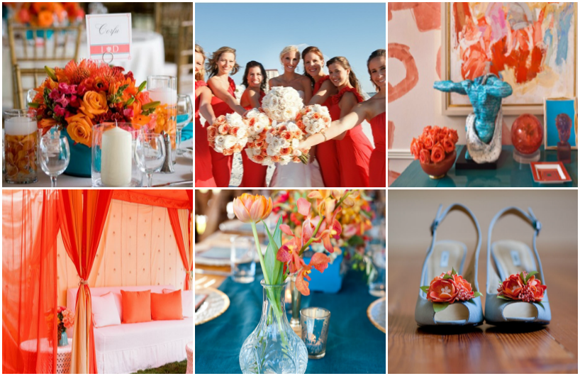 beach-wedding-colours-coral-blue