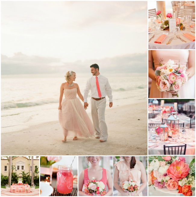 beach-wedding-colours-pink-peach