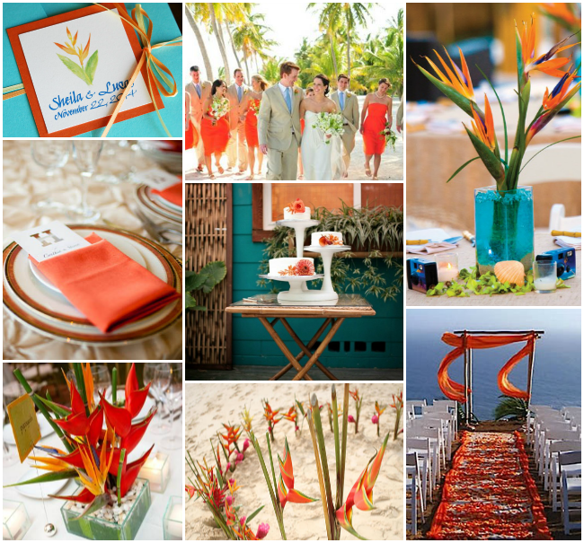 Tropical-Wedding-Heliconia-and-Birds-Of-Paradise-Motif