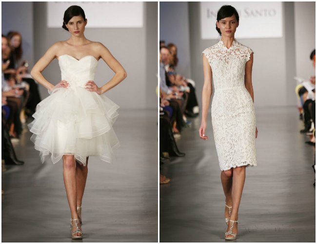 The Bridal Dress: Short Bridal Gown Aren't Short In Style
