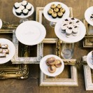 Chic Wedding Decor: Empty Picture Frames
