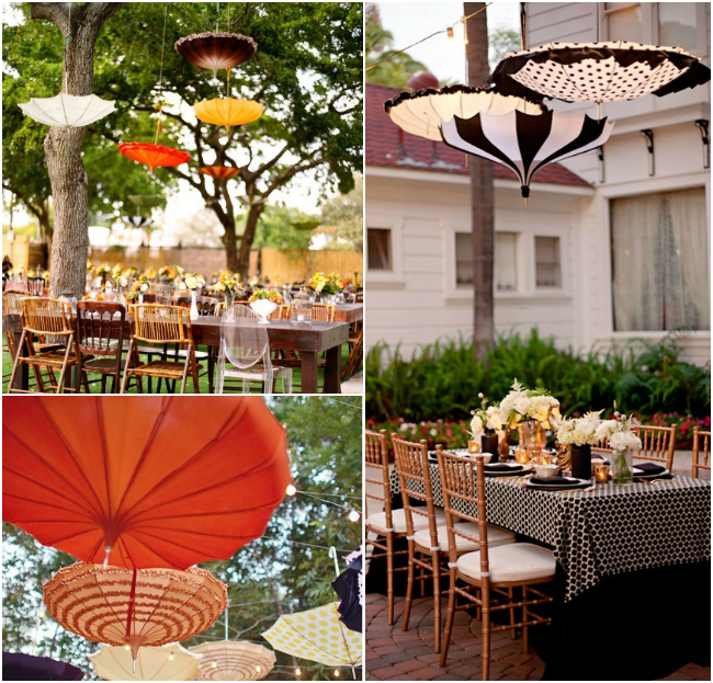 wedding-hanging-umbrellas
