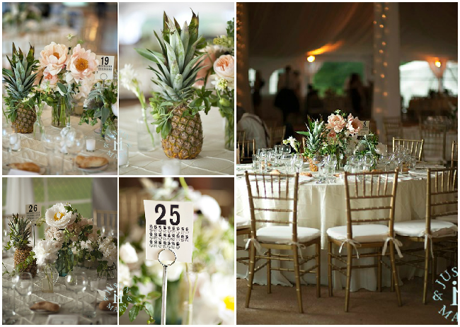 Pineapple-wedding-decor