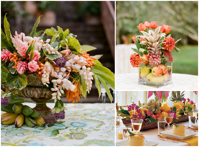 Tropical-Fruit-as-Wedding-Decor