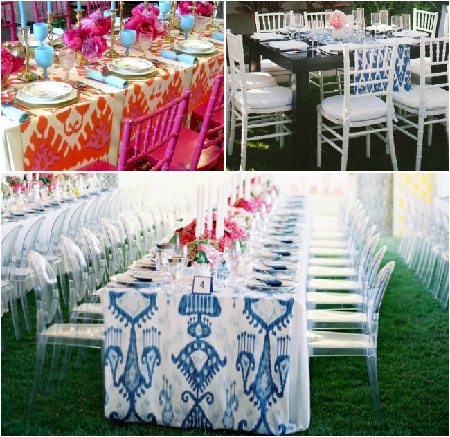 Ikat-Table-Runners