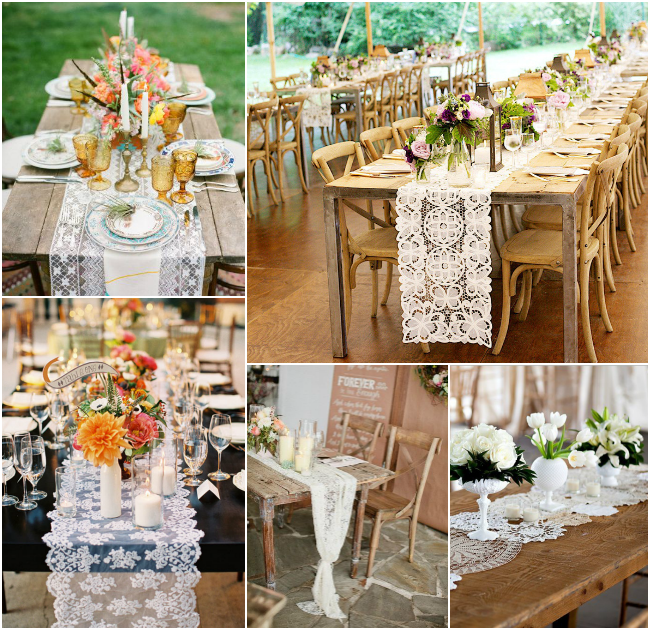 Lace-Table-Runners