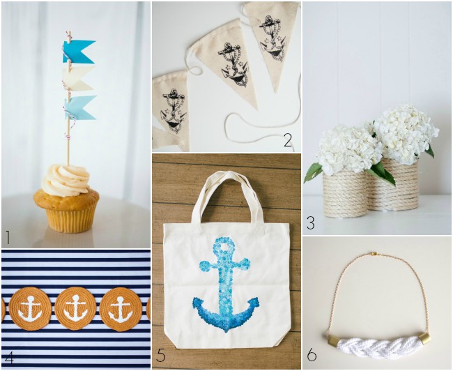 Diy wednesday let 39 s get nautical bajan wed bajan wed for Nautical projects