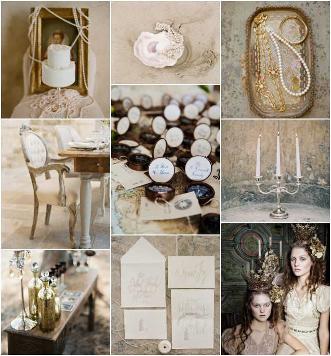 Mer Queen: Neutrals and Metallic Accents