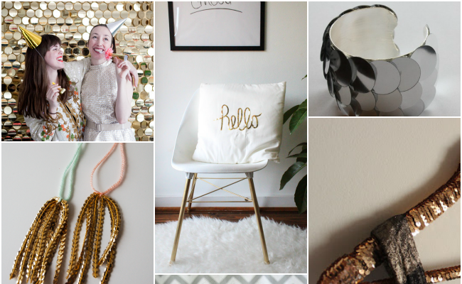 Sequins 2 DIY roundup