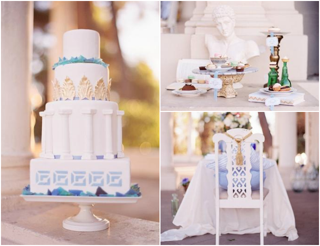 Grecian Wedding Theme