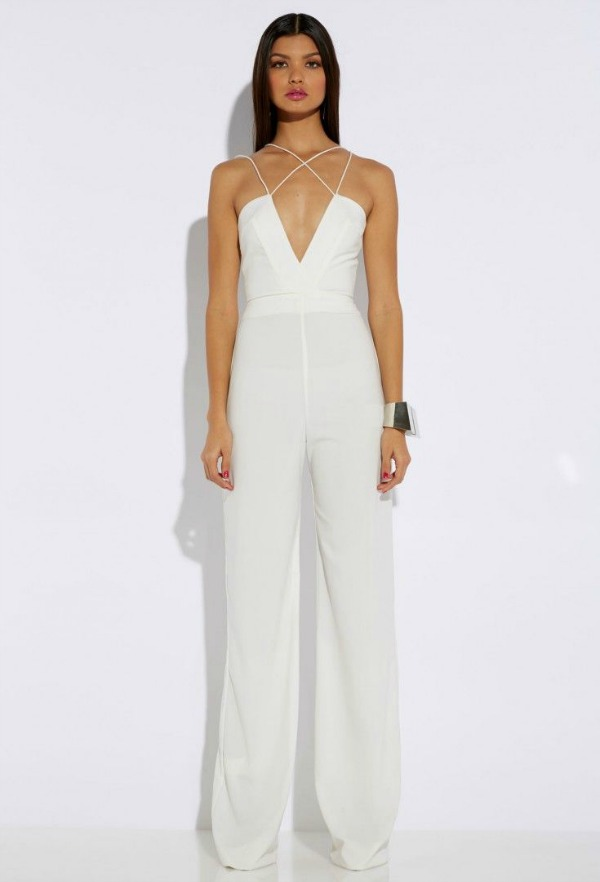 Rehearsal Dinner Fashion Dressy Jumpsuit Bajan Wed
