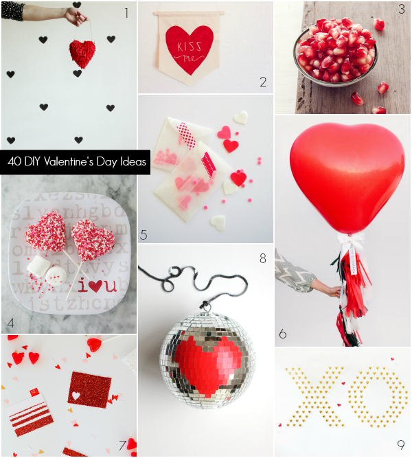 40 DIY Valentine's Day Ideas