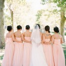 Elegant Outdoor Peach Wedding Inspiration
