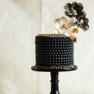 Modern Black and White Wedding Cakes