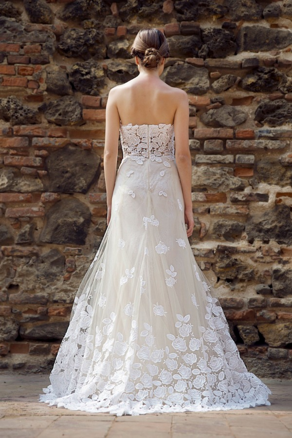 Allure wedding dress | Francesca Miranda Fall 2014 Bridal Collection | Bajan Wed