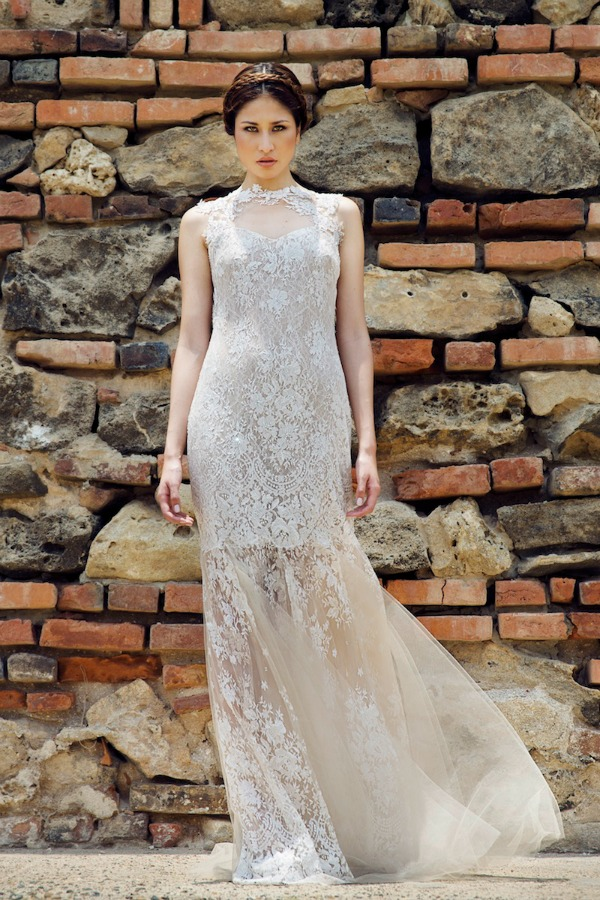 Antoinette wedding dress | Francesca Miranda Fall 2014 Bridal Collection | Bajan Wed