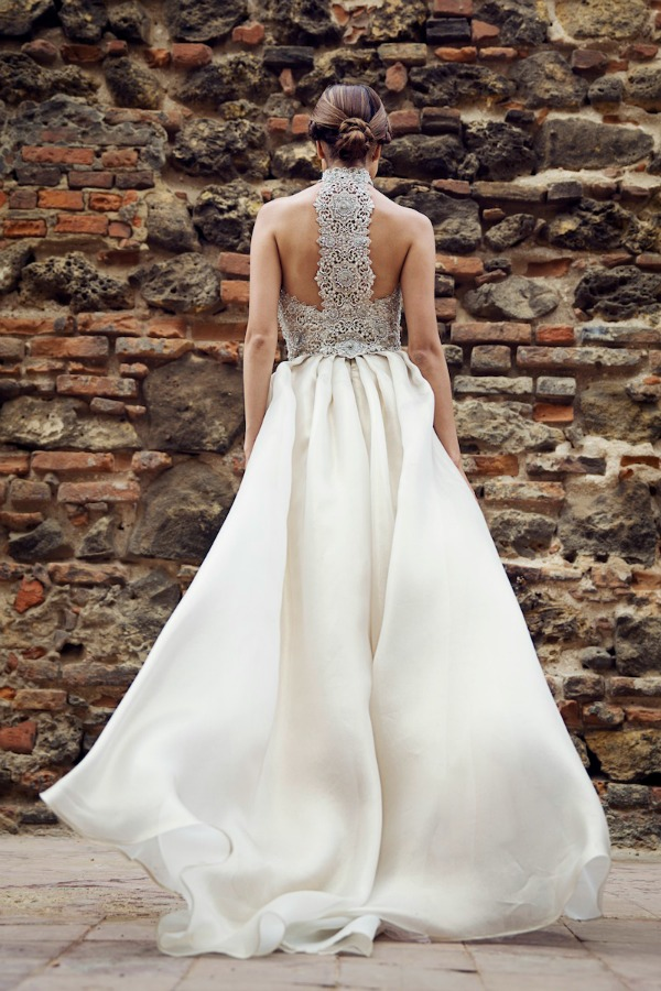 Camille wedding dress | Francesca Miranda Fall 2014 Bridal Collection | Bajan Wed