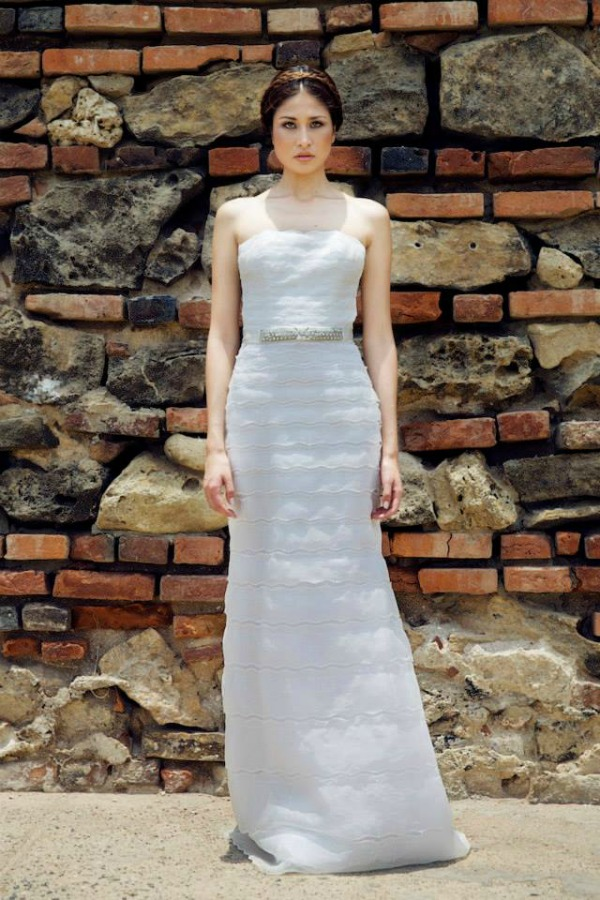 Clement wedding dress | Francesca Miranda Fall 2014 Bridal Collection | Bajan Wed