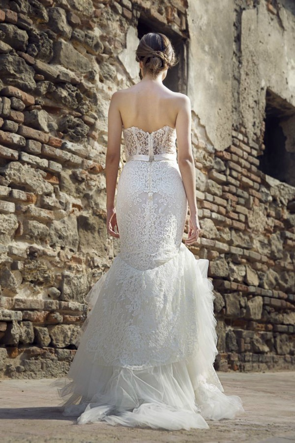 Jolie wedding dress | Francesca Miranda Fall 2014 Bridal Collection | Bajan Wed