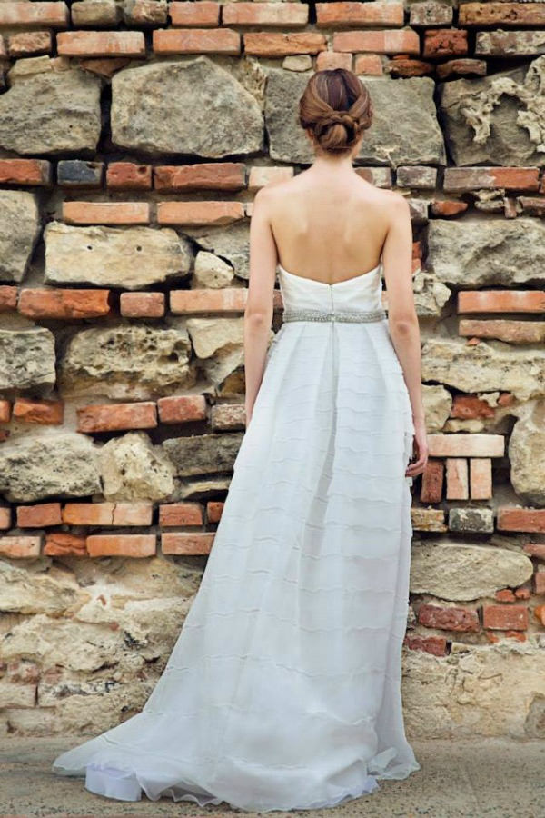 Madelaine wedding dress | Francesca Miranda Fall 2014 Bridal Collection | Bajan Wed