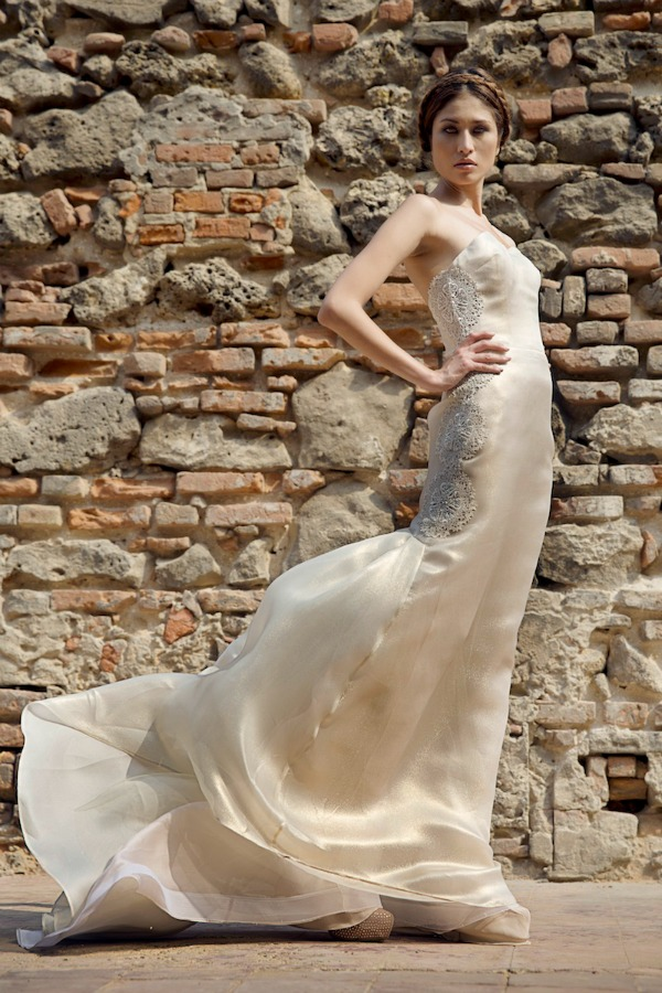 Marcelle wedding dress | Francesca Miranda Fall 2014 Bridal Collection | Bajan Wed