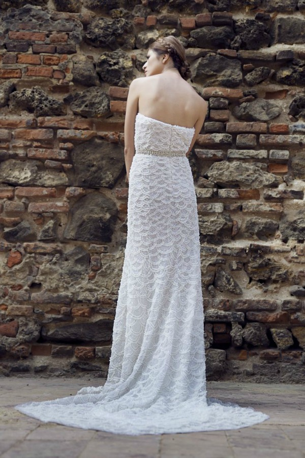 Pauline wedding dress | Francesca Miranda Fall 2014 Bridal Collection | Bajan Wed