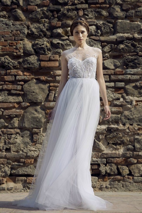 Roxanne wedding dress | Francesca Miranda Fall 2014 Bridal Collection | Bajan Wed