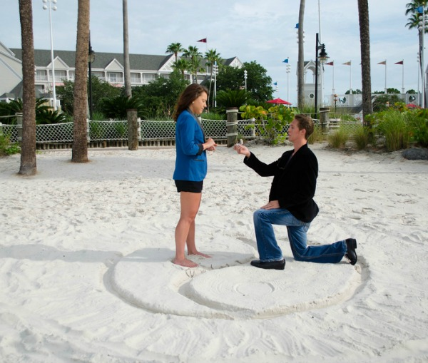 Disney Proposal + Engagement From Bee Photography | Bajan Wed