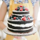 Delicious Wedding Trend: Chocolate Naked Cakes
