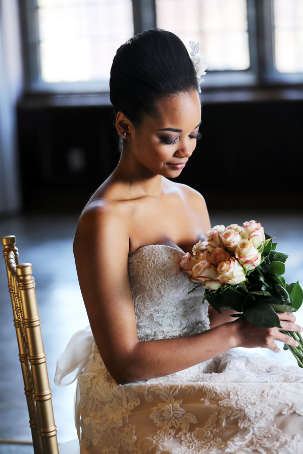Elegant Marie-Antoinette Bridal Session by Jazzymae Photography