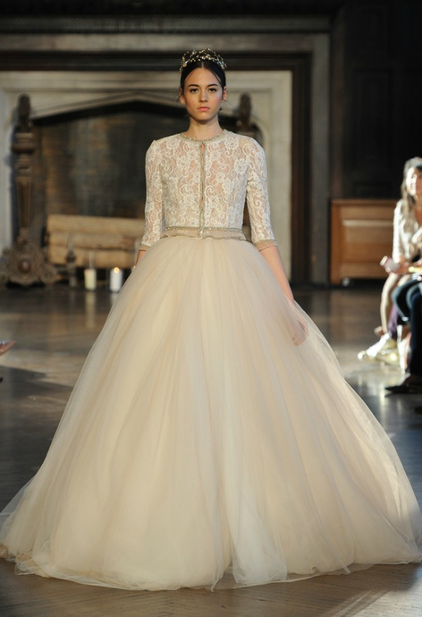 Inbal Dror Fall 2015 Bridal Collection | Ball Gown Wedding Dress