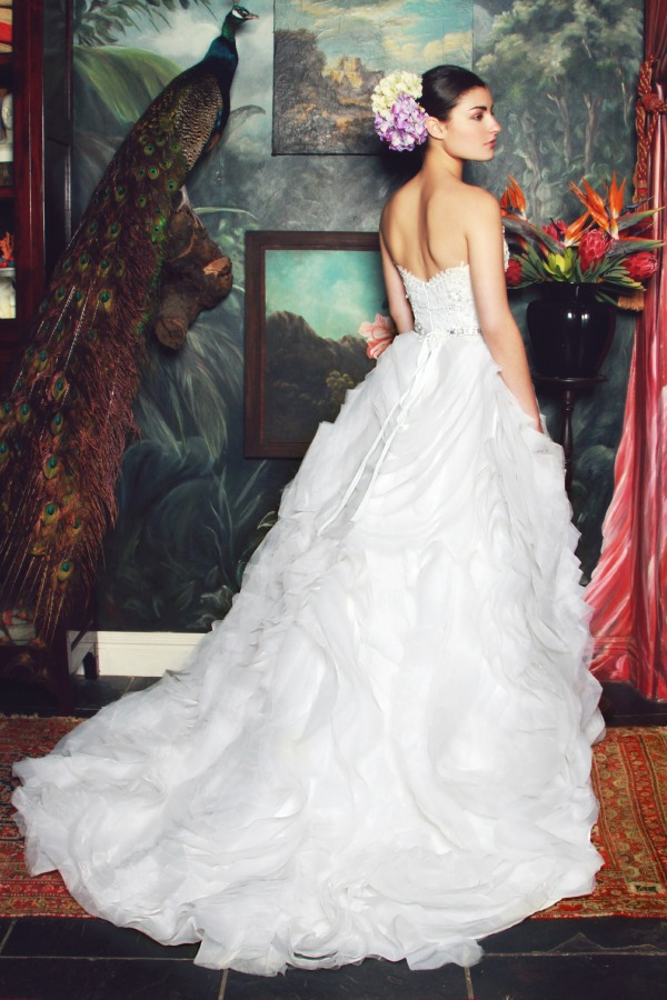 Anke | Anna Georgina 2015 Bridal Collection By Kobus Dippenaar