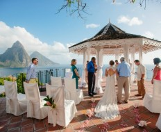 A Scenic Destination Wedding In St. Lucia   Valerie & Co. Photographers