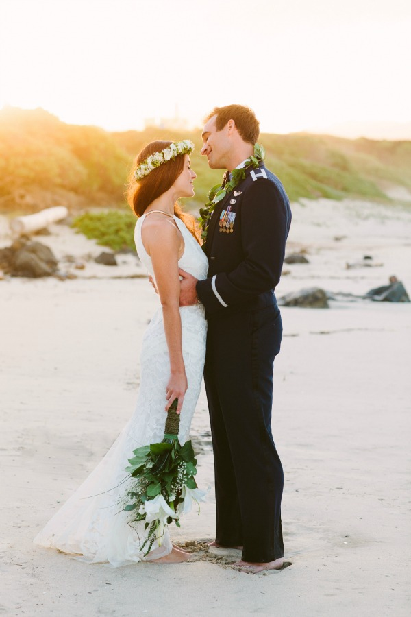 Intimate Hawaii Beach Wedding | Absolutely Loved Photography