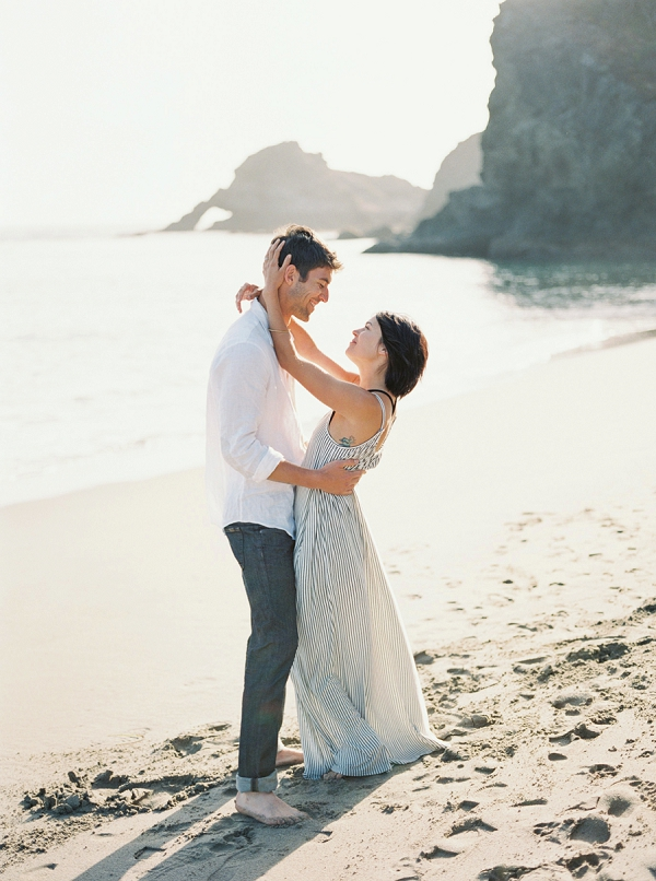 Intimate Seaside Engagement Inspiration   Wendy Cooper Photography