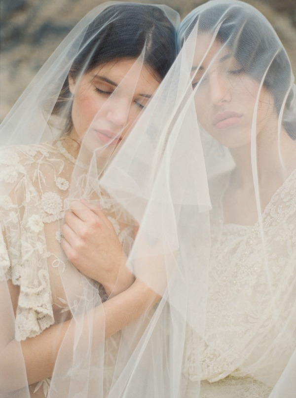 Melinda Rose Design Fall/Winter 2015 Collection: My Beloved   Handmade Bridal Veils and Wedding Hair Accessories   Erich McVey Photography