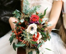 Romantic Christmas Wedding Inspiration   Creative Direction, Design and Styling: A Very Beloved Wedding   Melanie Nedelko Photography