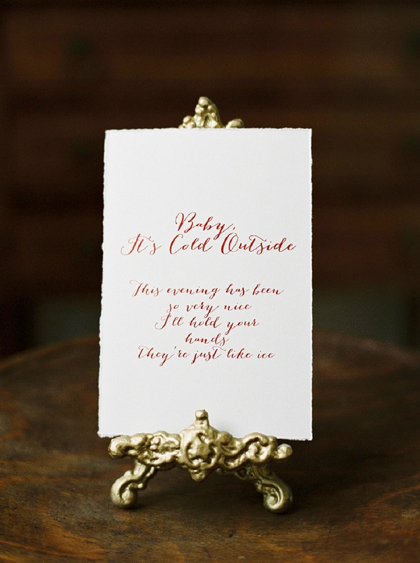 Romantic Christmas Wedding Inspiration | Creative Direction, Design and Styling: A Very Beloved Wedding | Melanie Nedelko Photography
