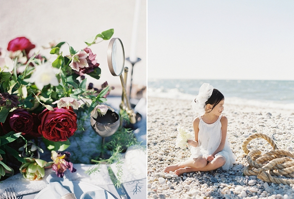Opulent Seaside Wedding Inspiration | Judy Pak Photography