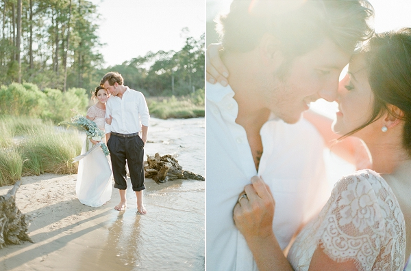 Soft and Romantic Emerald Coast Wedding Inspiration | The Jacksons Photography