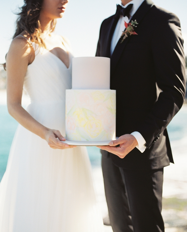 Romantic Pink and Gold Seaside Inspiration From Whitney Heard Photography