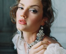 Grandeur Earrings from The Dreamers Collection Enchanted Atelier By Liv Hart with Photography by Laura Gordon