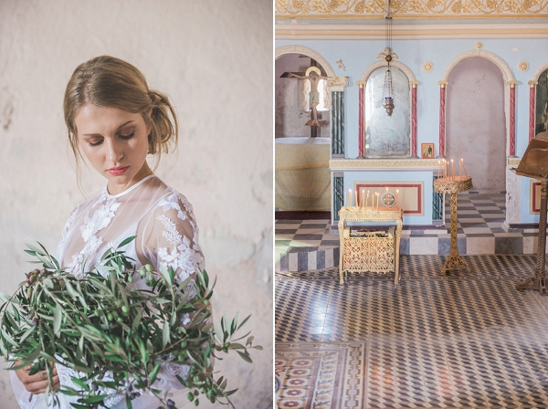 Greek Bridal Session By Wit Photography