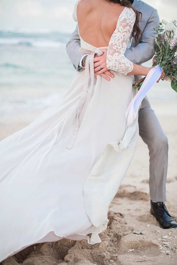 Rustic North Shore Oahu Wedding Elizabeth McDonnell Photography