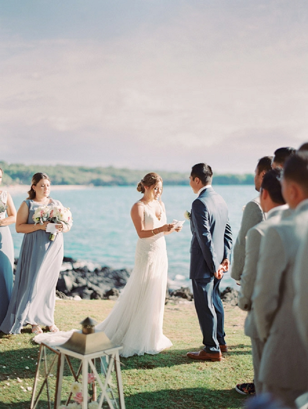 Sweet Kohala Coast Hawaii Wedding By Christine Clark Photography