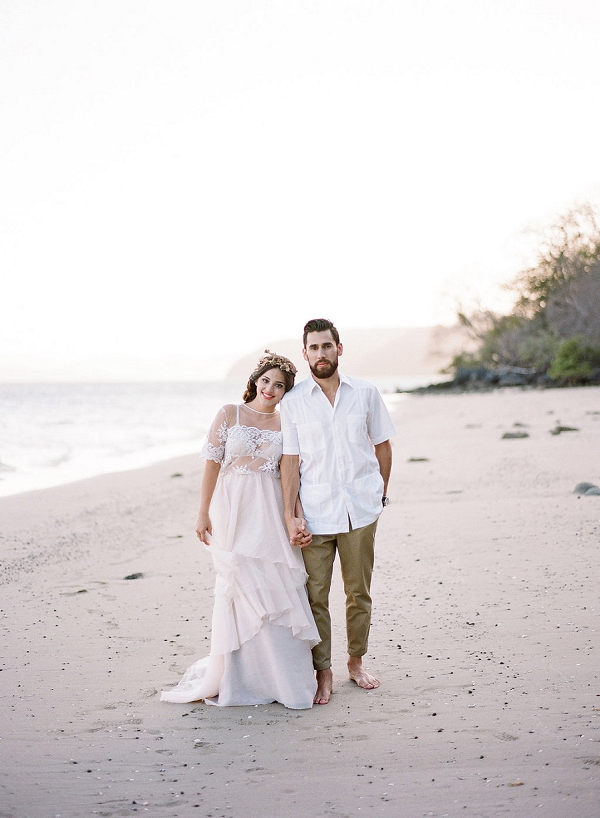 Beach Bride and Groom | Costa Rica Destination Wedding Ideas from Audra Wrisley Photography