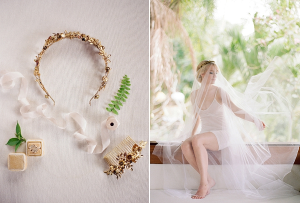Bridal Accessories and Wedding Ring | Bride with Veil | Dream Elopement In Bali By Audra Wrisley Photography